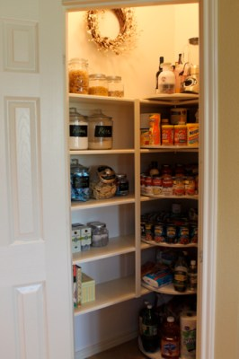 diy pantry makeover project
