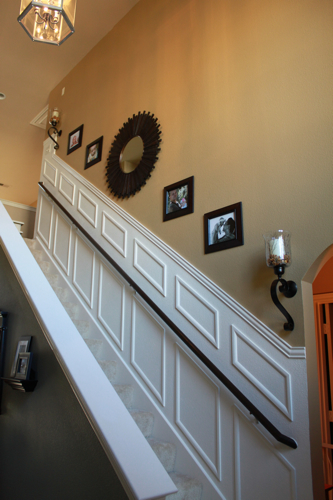 staircase makeover diy