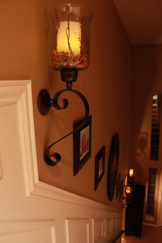 staircase makeover evening decor