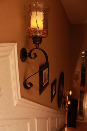 staircase makeover evening decor