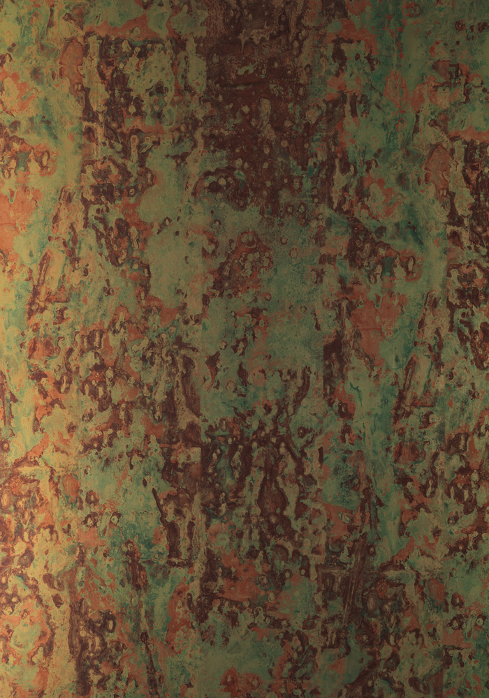 PHC02 Spoiled Copper Metallic Wallpaper by Piet Hein Eek