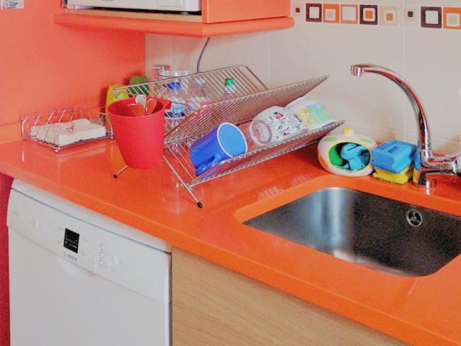 Fregadero de cocina de alquiler