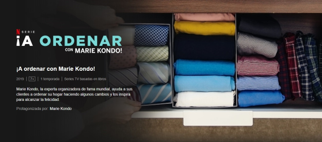 Netflix - A ordenar con Marie Kondo