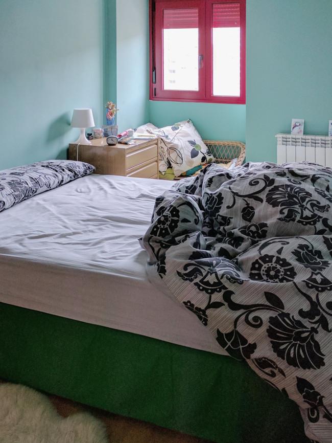 dormitorio de matrimonio en el piso anterior