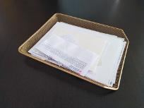 despejar la pila de papeles - limpieza de primavera - junio relimpito