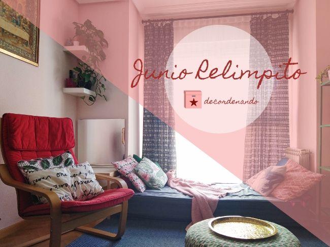 limpiar el sofá y los cojines - limpieza de primavera - junio relimpito