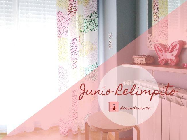 limpiar la ventana del dormitorio - junio relimpito