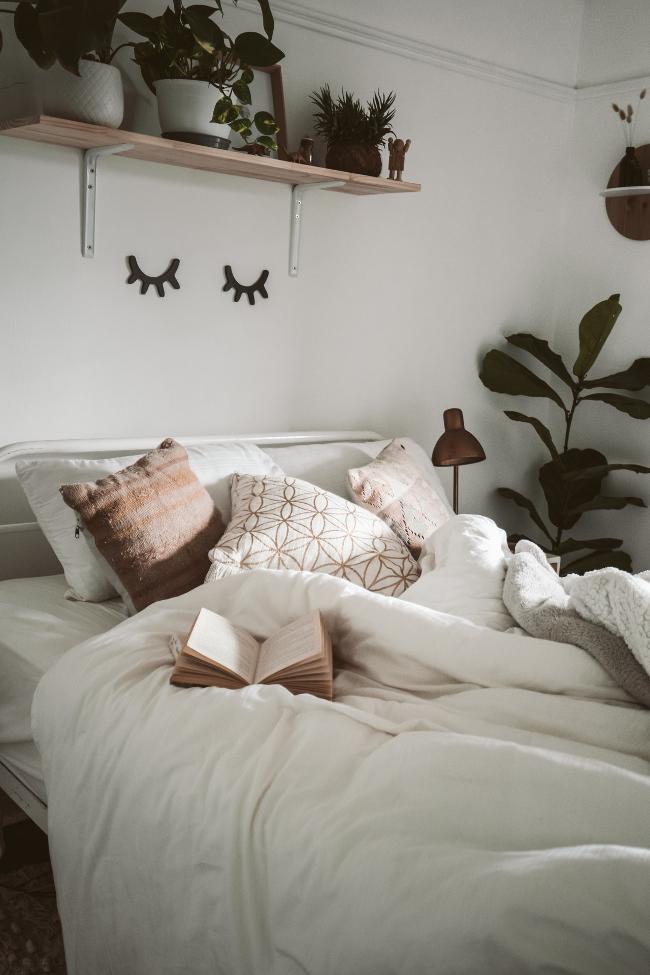 introduce plantas en todas las habitaciones