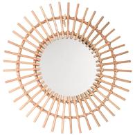 leroy merlin - espejo de bambú