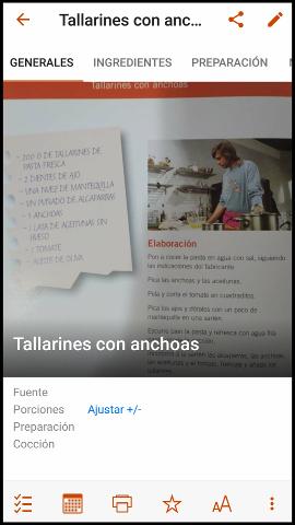 app para recetas RecipeKeeper