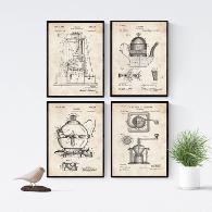 láminas de estilo industrial