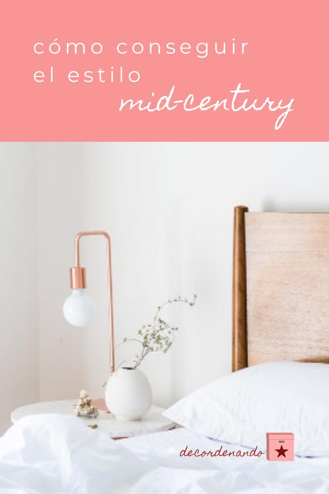 imagen para Pinterest: cómo conseguir el estilo mid-century