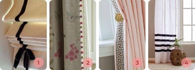 decoraciones de cortinas en Pinterest