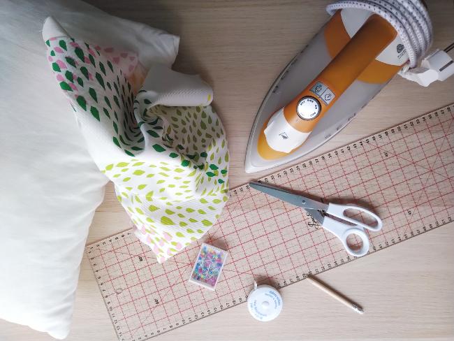 materiales para hacer un cojín fácil