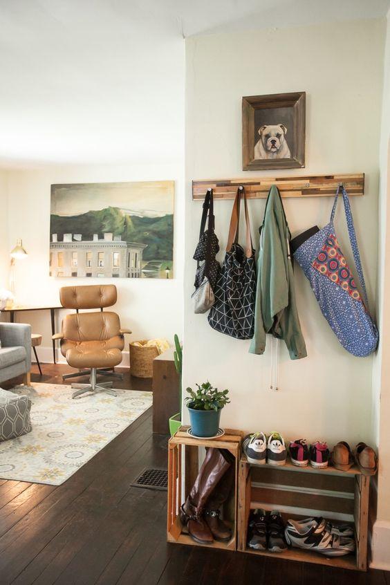 Deixe os sapatos na porta  Decoreba Design