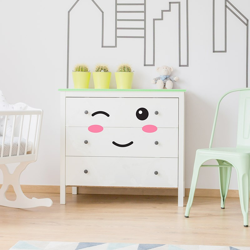 Sticker Pour Meuble Commode Stickers Diy Id Maison