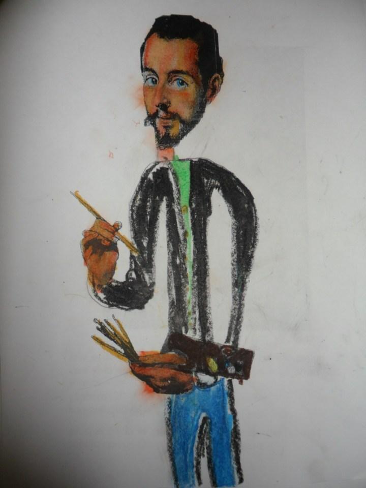 Retrato de El Greco