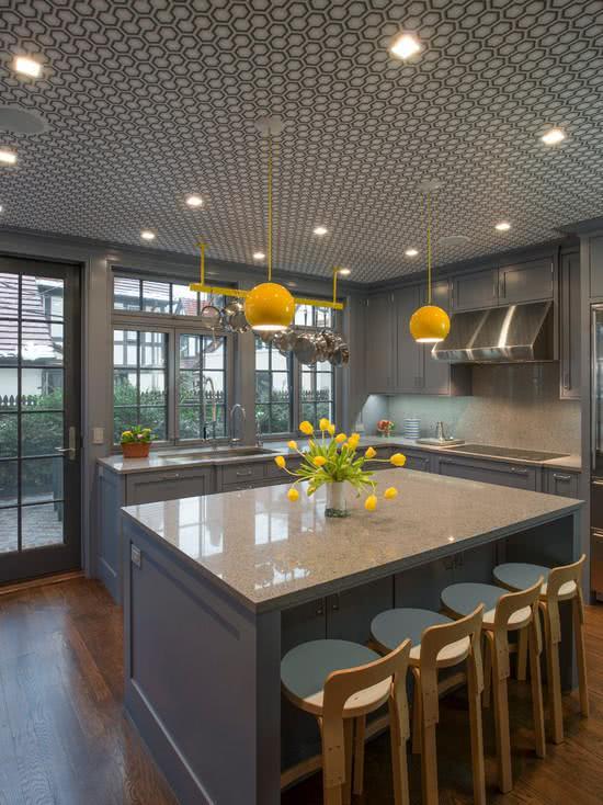 51 Luminrias para Cozinhas  Exemplos e Fotos