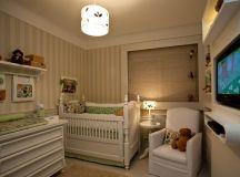 60+ Quartos de bebês verdes decorados – Fotos lindas ...