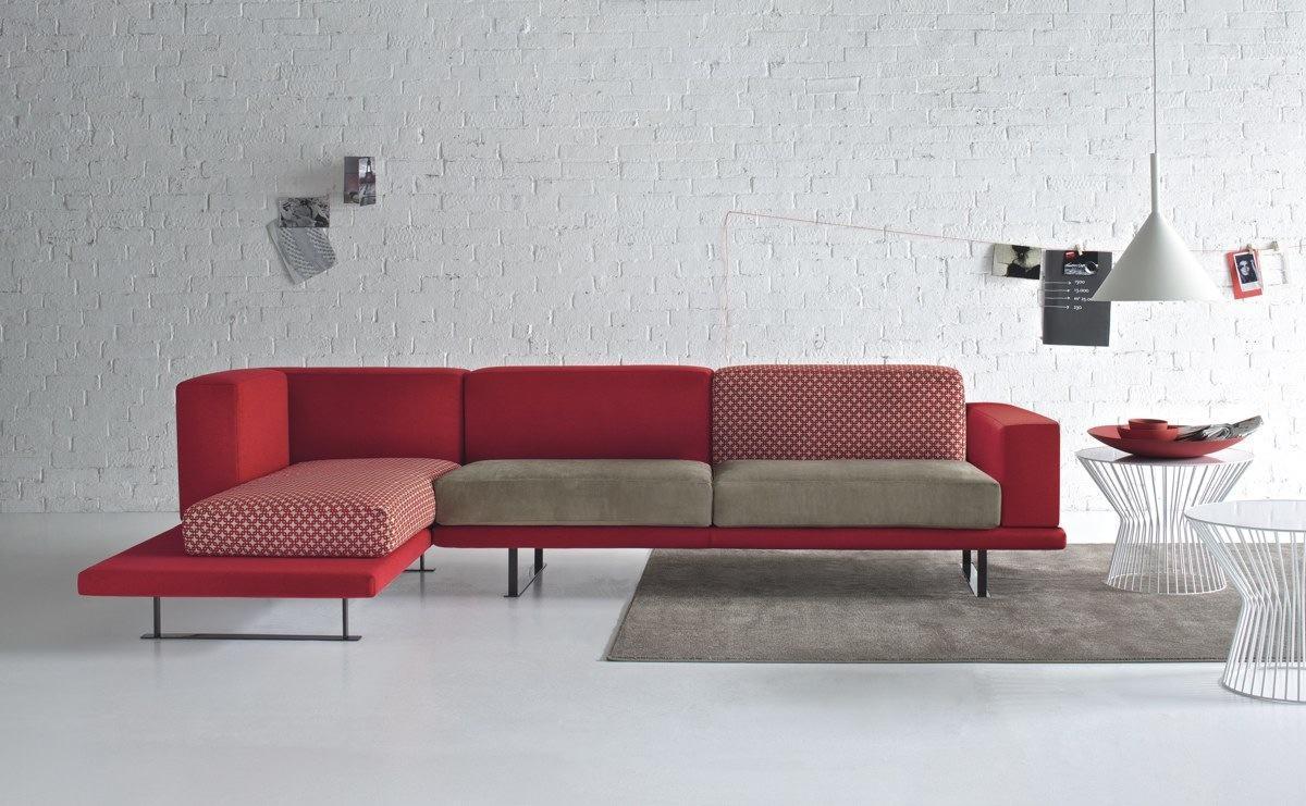 sofa modernos 2017 dunham down filled reviews 60 salas com sofas vermelhos fotos inspiracoes imagem60
