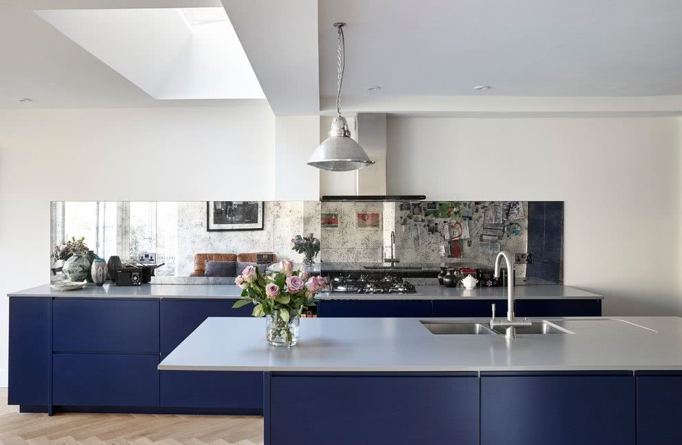 Cozinha Azul 70 Inspiraes de Decorao com a Cor