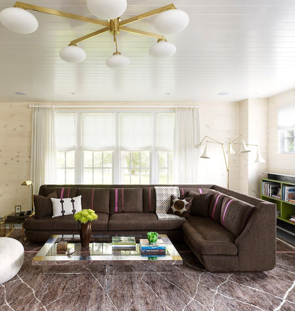 sofa modernos 2017 living room furniture sofas china sala com sofá marrom: 70+ modelos e fotos lindas!