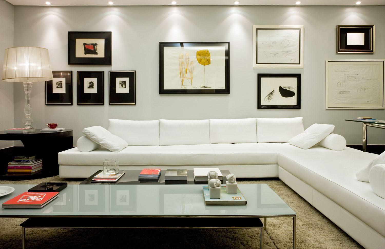 sofas modernos para salas pequenas king hickory sofa winston sofá branco 60 43 inspirações e fotos de decoração