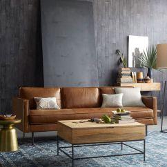 Brown Leather Sofa Color Restoration Modern Convertible Sofas Sofá De Couro 70 Modelos Incríveis Na Decoração