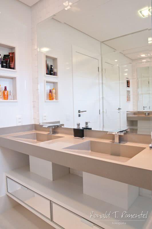 Cuba para Banheiro Tipos Modelos e 60 Fotos Incrveis