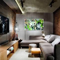 Sofas Modernos Para Sala De Tv Foam Sleeper Sofa Queen Moderna 60 Modelos Projetos E Fotos Decorar Muito Tradicional