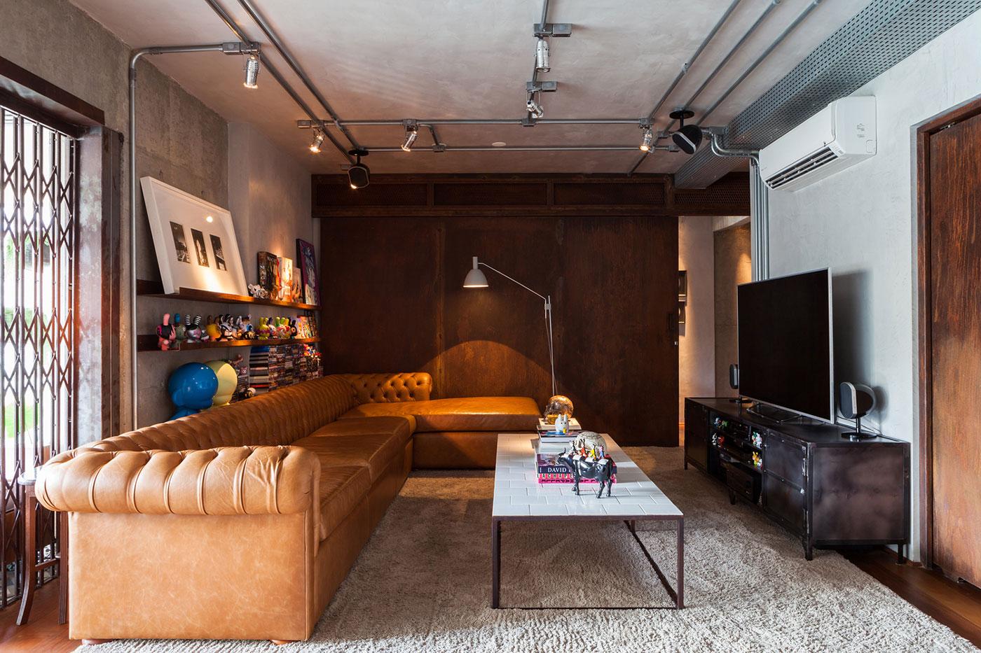 sofas modernos para sala de tv corner lounge sofa moderna 60 modelos projetos e fotos decorar