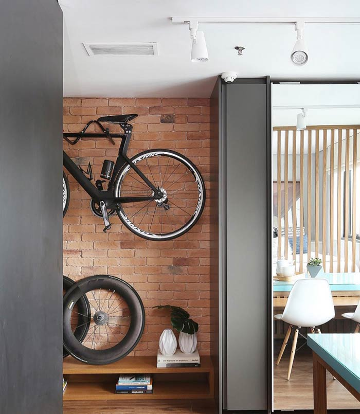 Bicicletas como item decorativo