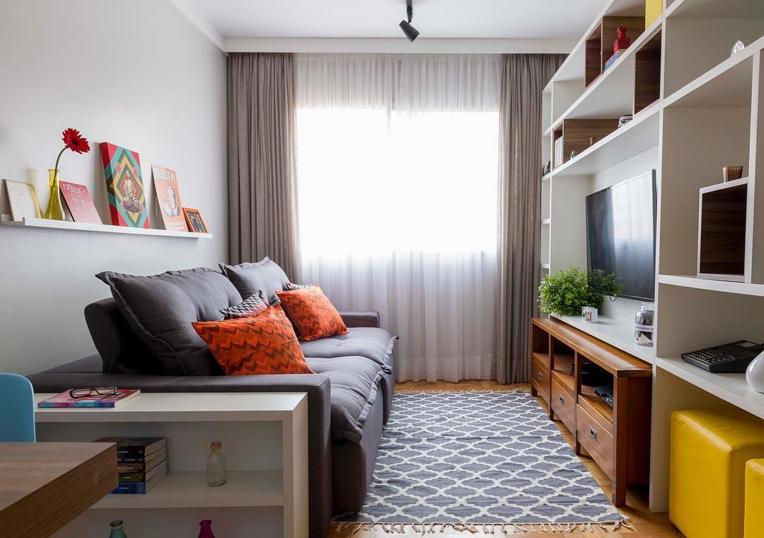 Sala Pequena Decorada 90 Ideias Fotos e Projetos Incrveis