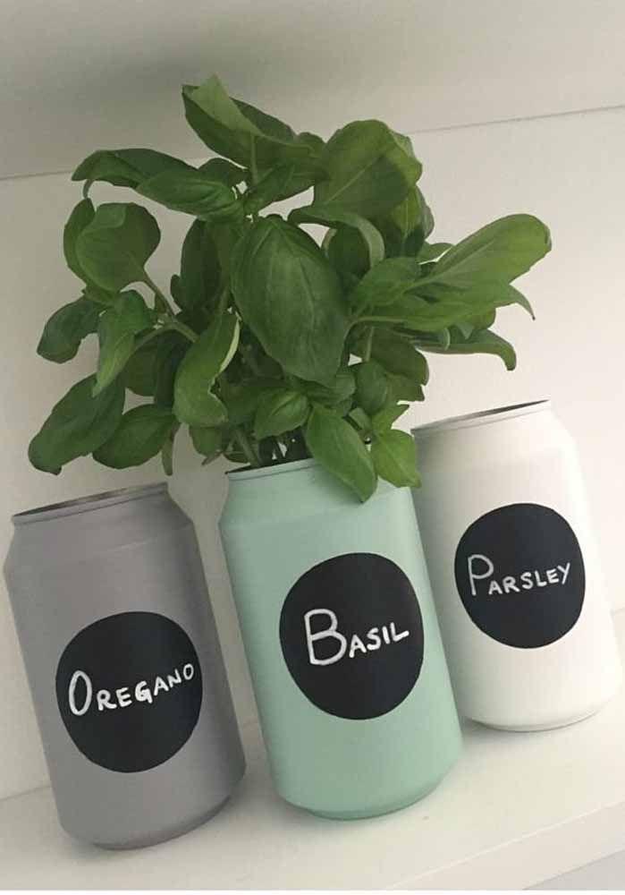 As ervas também ganharam um vasinho especial
