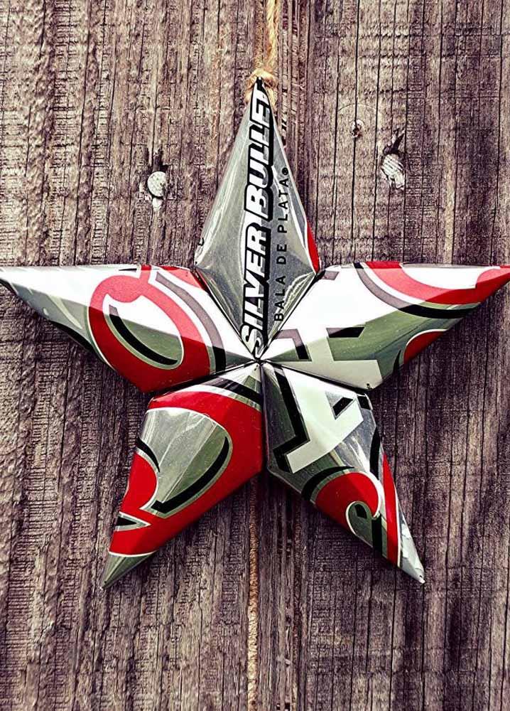 A estrela do Natal apresentada de uma maneira inusitada