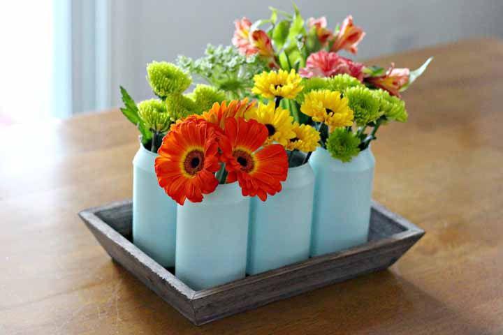 Vasinhos charmosos para flores mais charmosas ainda