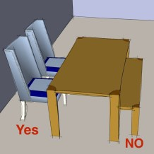 Good dining chairs vs bad