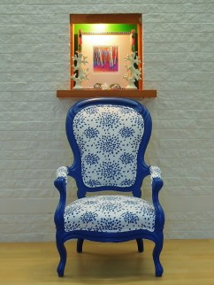 Reimagined antique chair