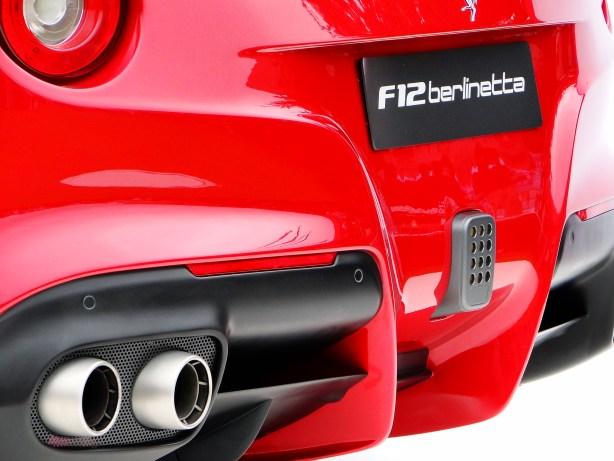 Ferrari F12 rear