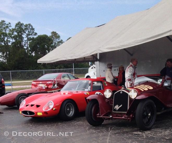 Track day Ferrari 250 GTO & Alfa