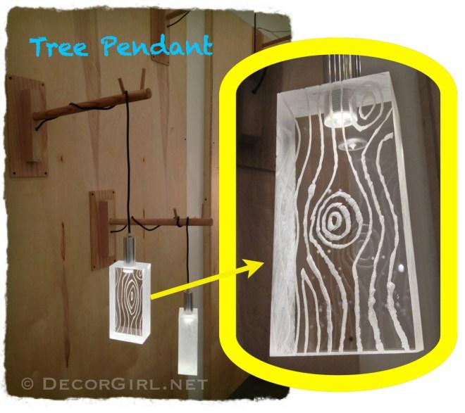 Woodgrain lighting