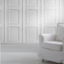 Paneled Wall Wallpaper
