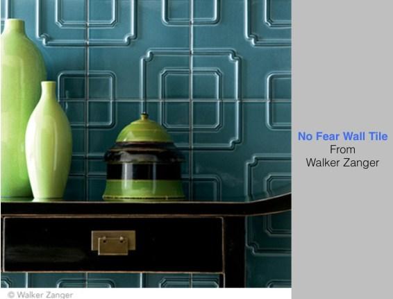 No Fear Wall Tile From Walker Zanger