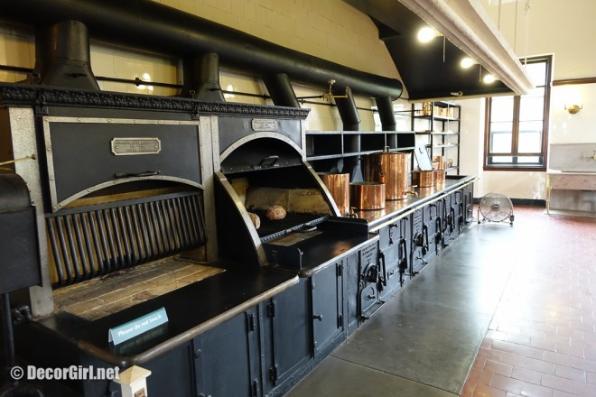 Large stove at The Breakers kitchen in Newport