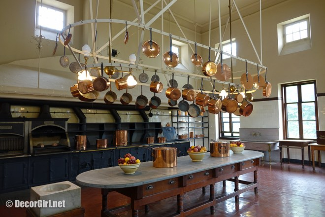 Kitchen at The Breakers in Newport