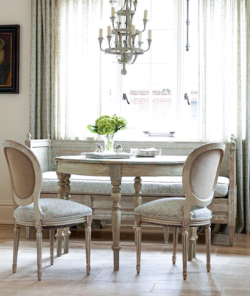 Kitchen Dining Room Table With Bench