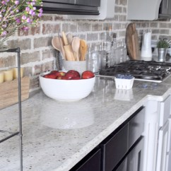 Kitchen Countertops White Small Table Counters Style Them Like A Pro Decor Gold Designs How To Your