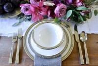 Table Styling Basics Featuring Arte Italica - Decor Gold ...