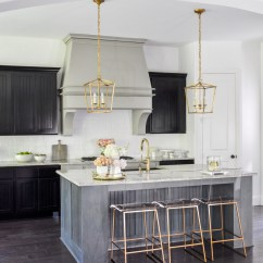 Gold Kitchen Axor Faucet Update With Accents By Decor Designs Dramatic