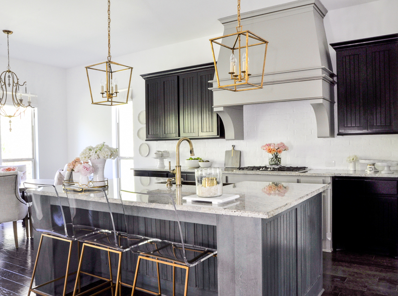 Kitchen Update With Gold Accents  By Decor Gold Designs